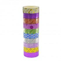 Cinta Adhesiva Glitter con Diseños