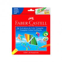Lapices de Colores Largos x 24 Faber