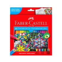 Lapices de Colores Largos x 60 Faber