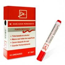 Marcador Permanente Grueso DL