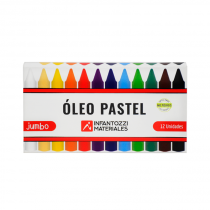 Oleo Pastel x 12 Infantozzi
